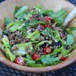 spicy taco salad