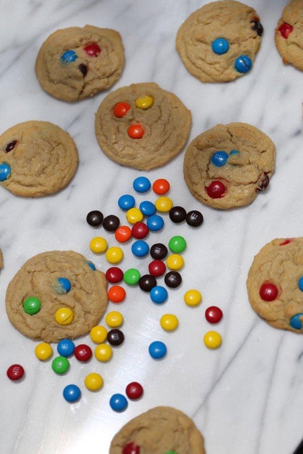 m&m cookie recipe
