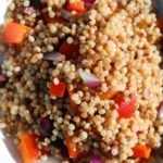 easy israeli cous cous dish