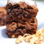 chocolate walnut brownie