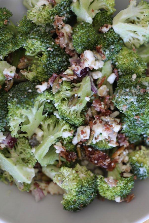 cold broccoli salad
