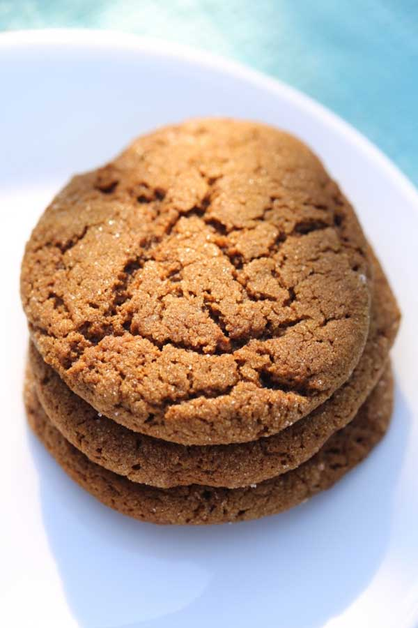 Flour Bakery's Ginger Molasses Cookies