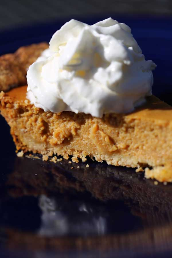 Flour Bakery's pumpkin pie recipe