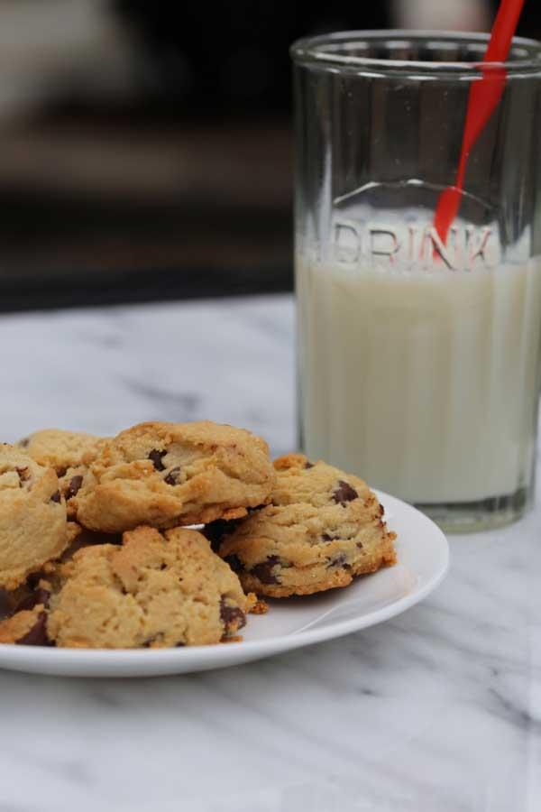 hazelnut chocolate chip cookie recipe