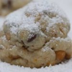 orange zest snowball cookies