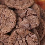 Soft and Chewy Chocolate Sugar Cookies