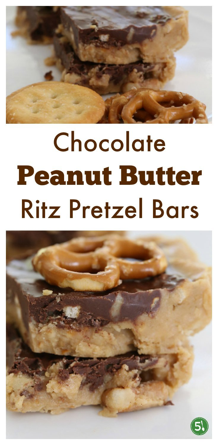 Chocolate peanut butter ritz bars are decadent no bake treats that are quick to throw together and are beyond delicious.