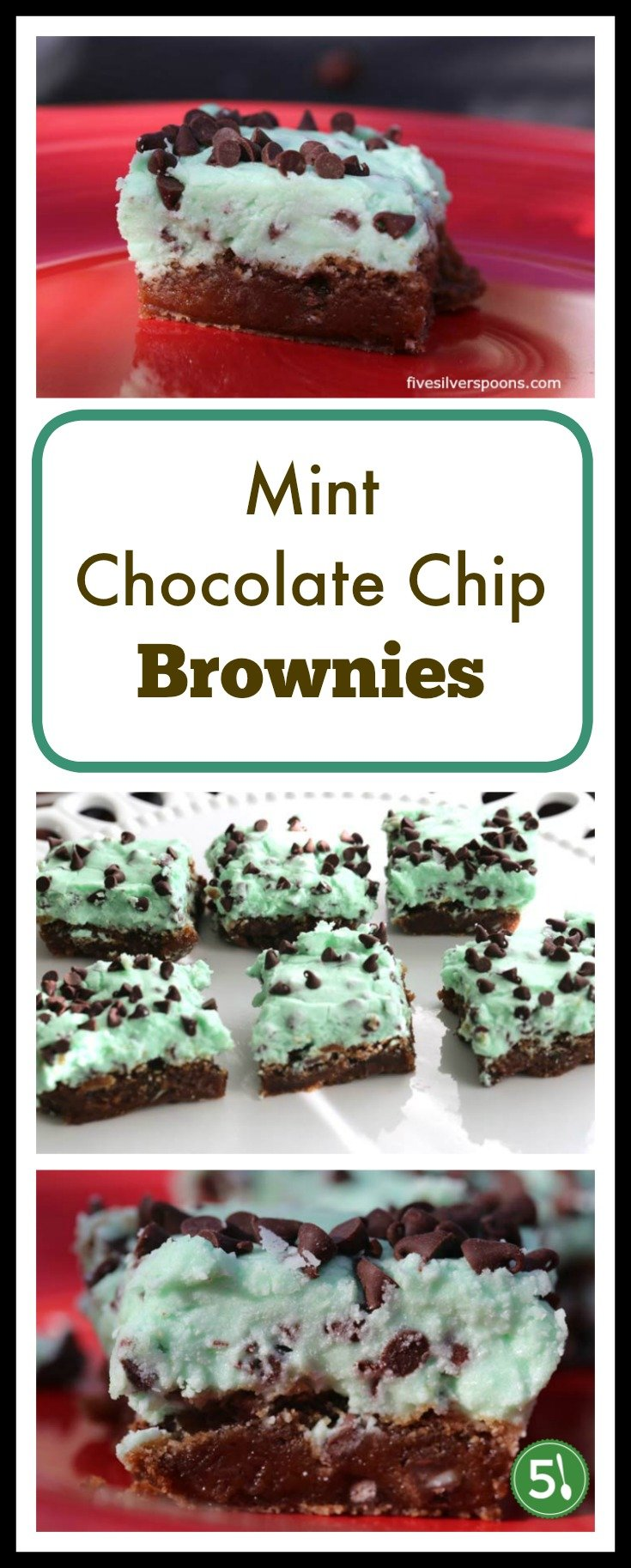 This chocolate mint brownies recipe is one of my daughter's favorite desserts.  They smell amazing while they're baking in the oven.