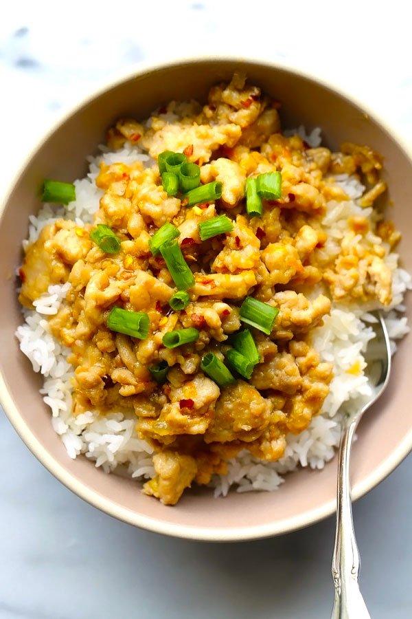 ground chicken dinner recipe
