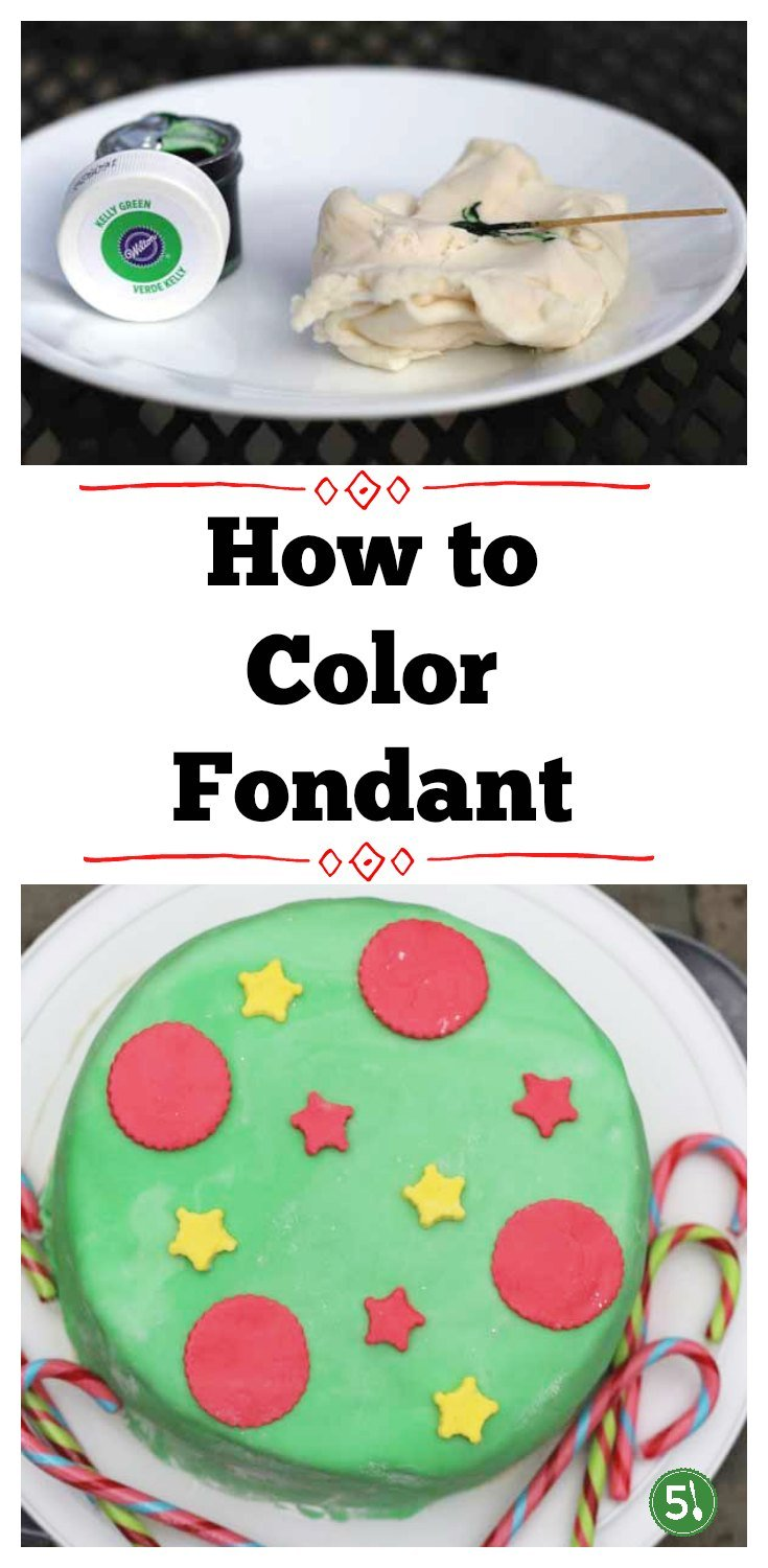 How to color fondant tutorial.  It is easier than you think.