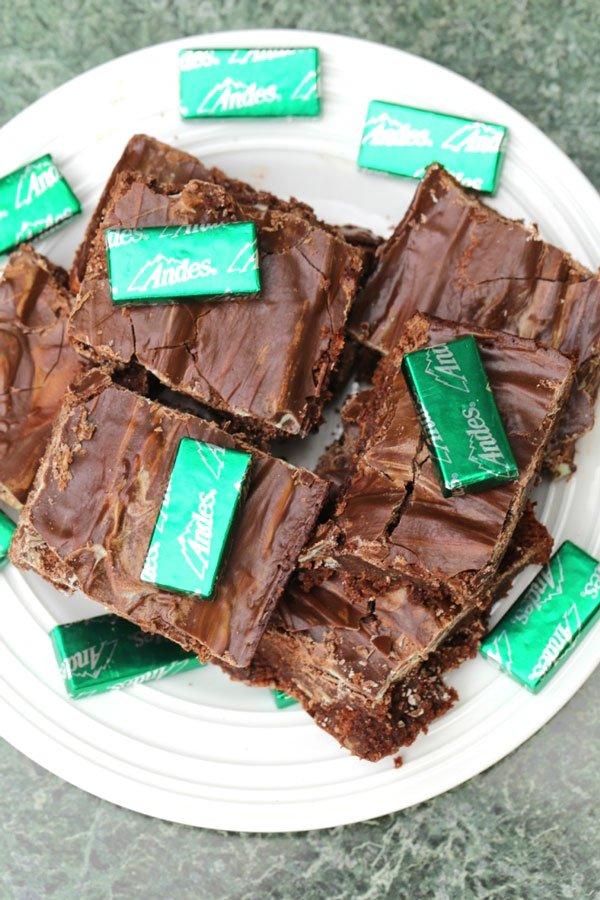 andes mint brownies