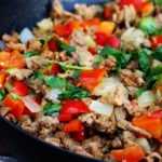 ground turkey dinner