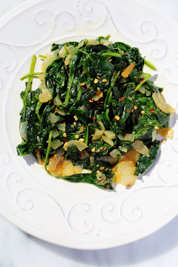 Easy Sautéed Spinach