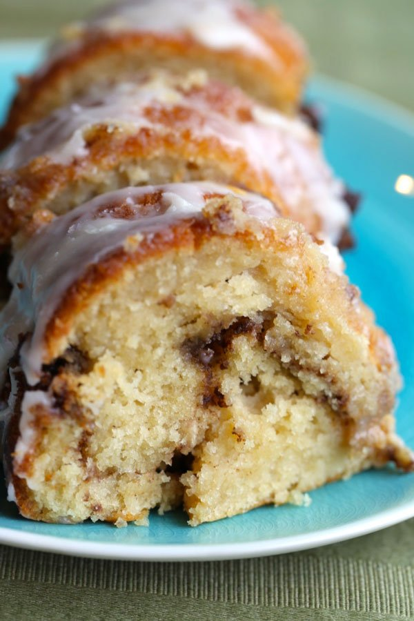 Cinnamon Cake with Chai Spices