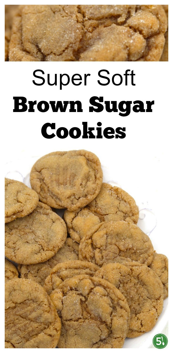 Brown sugar cookie recipe that is super soft, a tad chewy, simple to make, and one of my favorite sweet treats ever