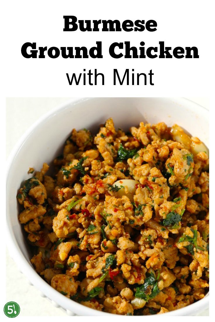 Delicious ground chicken stir fry recipe that is low carb, healthy, easy and ready in 30 minutes.
