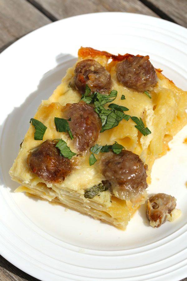 baked ziti with sausage