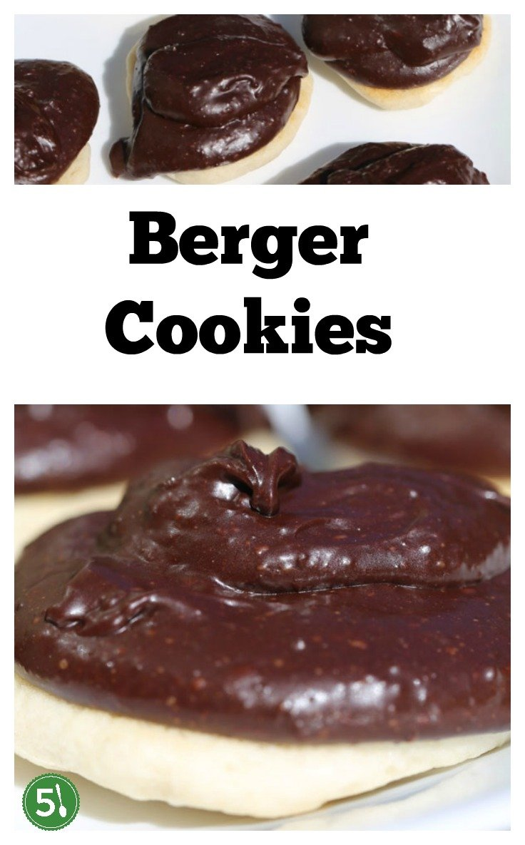 Berger Cookies from Baltimore have a unique cake like texture with a thick milk chocolate frosting that are simply irresistible