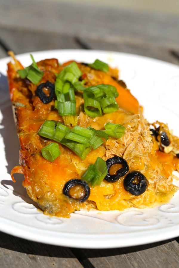 slow cooker enchiladas