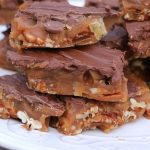 Butter toffee with pecans