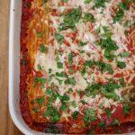 easy vegetarian lasagna florentine